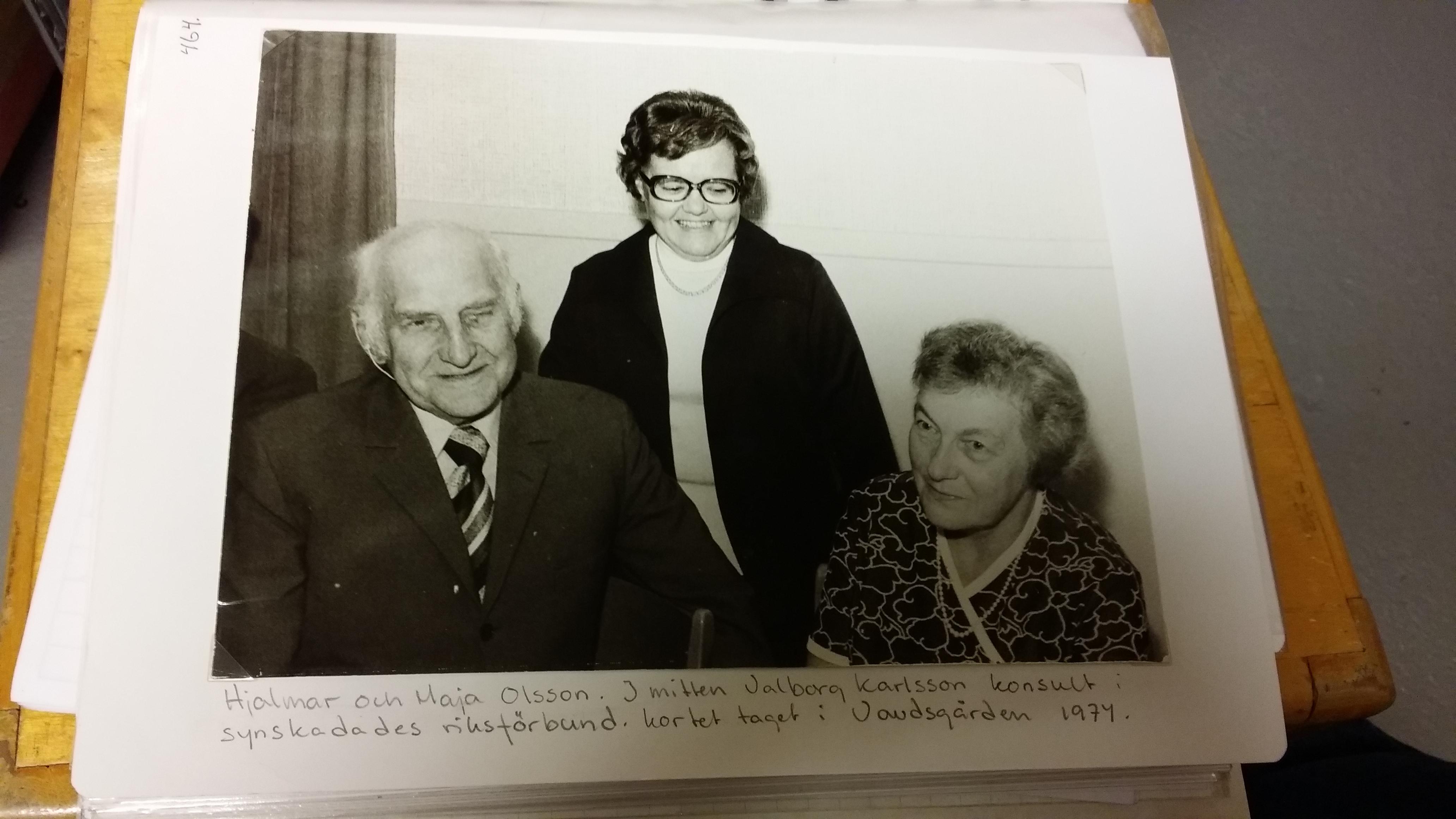 1979 Hjalmar och Maja Olsson
